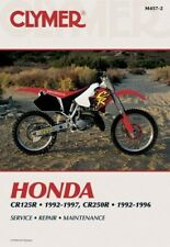 HONDA CR125 CR125R 92-97 & CR250 CR250R 92-96 Clymer WORKSHOP MANUAL m4572 NUOVO