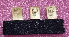 3 X T370E156M020AS  KEMET Tantalum Capacitors - Solid Leaded 20V 15uF