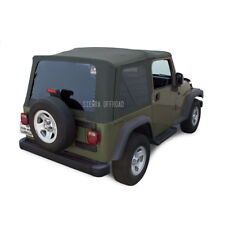 Jeep Wrangler TJ Soft top, 2003-2006, Tinted Windows, Khaki Diamond
