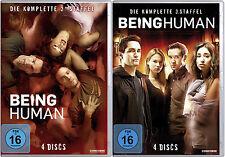 8 DVDs * BEING HUMAN - STAFFEL / SEASON  2 + 3 IM SET # NEU OVP $