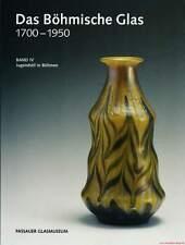 Fachbuch Das Böhmische Glas 1700-1950 Band IV Jugendstil in Böhmen NEU