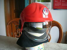 China CAPF Firefighter Fireproof Helmet and Fireproof Shawl,RMK-LF Type,New.