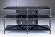 Beautiful VTI BLG503 Audio/Video 3 Shelf Glass Rack,NEW