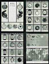 1940 Best Built Watches - Pocket Watches in the World PRINT ARTICLE detailed