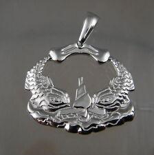 US Navy licensed STERLING CUSTOM PENDANT NEW!