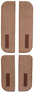 1974 GMC K15/K1500 Suburban Cutpile Carpet Door Panels on Cardboard w Vent