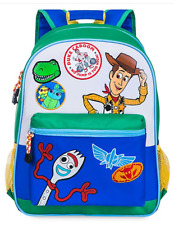 Toy Story 4 Blue Backpack Children School NEW