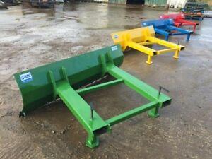 4ft Forklift Snow Plough/Yard Scraper