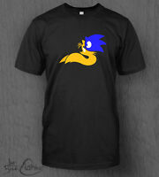 Sonic And Tails T-shirt MEN'S Sonic The Hedgehog, Sonic Mania, Knuckles Nintendo