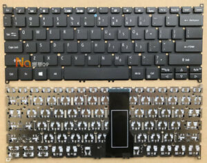 New laptop Keyboard for Acer Swift3 S40-20 SF313-51 SF313-52 N18H2 no backlit
