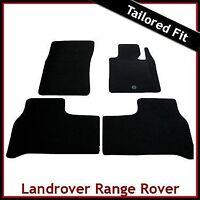 Range Rover Mk3 L322 Pre-facelift 2002-2007 Tailored Carpet Floor Mats BLACK