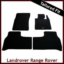 Range Rover Mk3 L322 Pre-facelift 2002-2007 Tailored Carpet Floor Mats BLACK