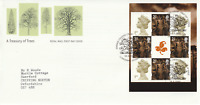 18 SEPTEMBER 2000 A TREASURY OF TREES PANE RM FIRST DAY COVER LLANGERNYW SHS a