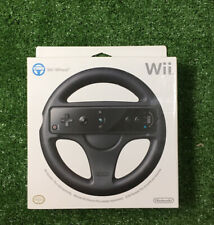 Nintendo Wii Wheel Black Official Brand new Sealed