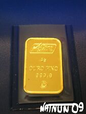 5 grams GOLD BAR / 24 KARAT - 999,9 / ALBINO MOUTINHO