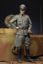 Kit de Figuras 1:35 Escala Modelo de Resina Segunda Guerra Mundial Alemán SS Panzer Officer (figura 1) 1/35