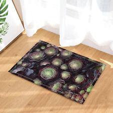 Cactus Pattern Desert Plant Non-slip Soft Bathroom Bath Rugs Carpet Mat Fabric