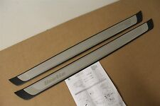 VW Beetle stainless inner sill embossed entry strip kit 5C0071303 New genuine VW