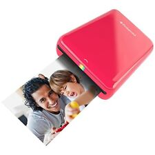 Polaroid ZIP Mobile Printer ZINK Zero Ink iOS & Android Devices - Red POLMP01R