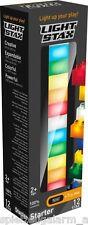 LIGHT Stax 12 LED i blocchi predefiniti + piastra di base 100% compatibile USB LUCE NOTTURNA DIMM