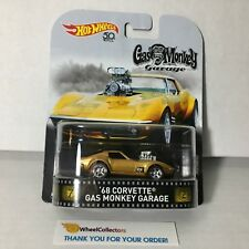 '68 Corvette Gas Monkey Garage * 2018 Hot Wheels Retro G Case