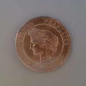 France 1872 France 10 Centimes