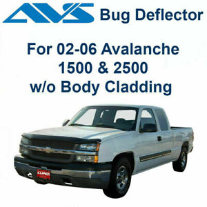 AVS Bugflector Smoke Hood Protector Shield 25815 Fit 2003-2006 Chevy Avalanche