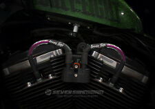 SPORTSTER 48 72 883 HARLEY LIME FUCHSIA FLAKE 12MM IGNITION WIRE SPARK PLUG