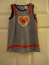Baby Girl's Swiggles Red White & Blue 2 Piece Bandana Shorts Set Size 2T New