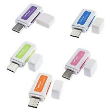 USB 2.0 Multi Card Reader 4-in-1 Memory for M2 SD SDHC DV Micro SD TF Card