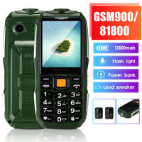 """2.6"""" 13800mAh GSM900/1800 bluetooth Big Speaker Older Mobile Phone Long Stand-by"""