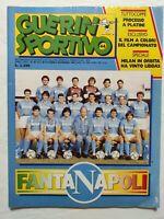 GUERIN SPORTIVO 44-1986 +FILM NAPOLI MARADONA ANTOGNONI SPECIALE AVELLINO