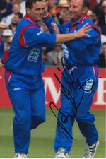 England cricket mano firmato Neil fairbrother 6x4 Foto 5.