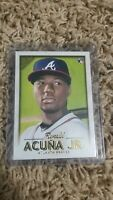 RONALD ACUNA JR 2018 Topps Gallery RC #140! HOT! INVEST NOW! Braves!!!!!