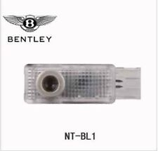2 pcs /lot for bentley Car Door Welcome Laser Lights with car logo LED Shadow