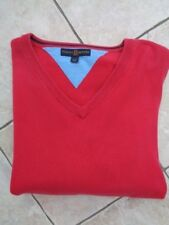 "Mens Tommy Hilfiger V Neck Jumper - XL - PIT TO PIT 24.5"" - GC!"
