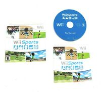 Wii Sports Nintendo Wii Game Complete With Manual CIB