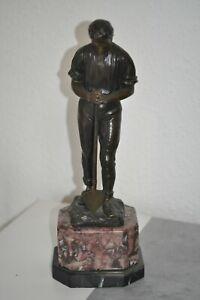 Bronze  Sculptur   signiert  Schmotz