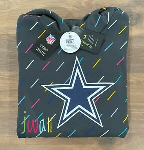 NEW 2021 Authentic Nike Dallas Cowboys Men's NFL Crucial Catch Pullover Hoodie