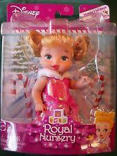 Disney Princess Royal Nursery Aurora Sleeping Beauty Pink Dress Baby Doll Sealed
