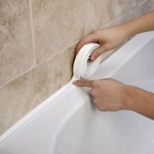 Bathroom Sealing Strip Tape White PVC Self Adhesive Shower Sink Bath Waterproof