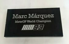 Marc Marquez MotoGP - 130x70mm Engraved Plaque / Plate for Signed Memorabilia