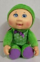 """9.5""""CPK CABBAGE PATCH KIDS PERRY TURTLE DOLL,CUTIES FOREST FRIENDS,PLUSH,GREEN,"""