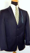 NWT TOMMY HILFIGER SUIT JACKET SEPARATE 100% WOOL NAVY PINSTRIPE 42R ADAMS