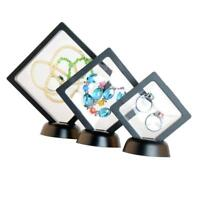 3pcs Mixed Size Jewelry Holder Earring Ring Display Holder Display Boxes