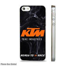 KTM suciedad Motor Bicicleta Moto funda se adapta iPhone 4 4S 5 5S 5C 6 6S 7 8 se Plus X
