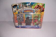 Skylander giants 3 pack, chop chop, Dragonfire cannon, and shroomboom
