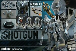 Hot Toys MMS309 1/6 Iron Man 3 MARK 40 MK XL Shotgun Tony Stark Special Ver
