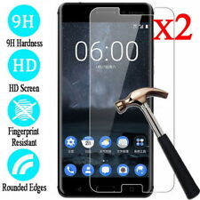 For Nokia 2 3 5 6 8 2017 7.1 2Pcs 9H Tempered Glass Screen Protector Film Cover