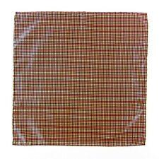 New SANTOSTEFANO Italy Handmade Geometric Silk Pocket Square Handkerchief $150